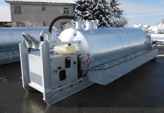 S-Vac 8.5m³ Saugfass Druckfass