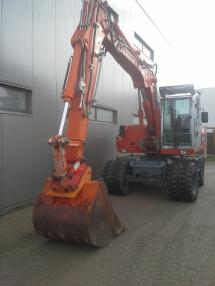 Mobile excavator - Atlas Terex 1605 M
