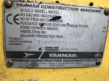 Miniexcavadora - Yanmar SV08 - 1 Microbagger