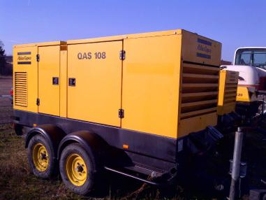 Generatore di corrente - Atlas Copco 100 + 45 + 20 kva