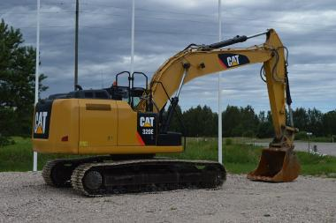 Tracked excavator - Caterpillar 320EL