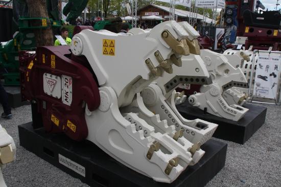 Hydraram HMK-10 Multischere | 1100 kg | 9 - 18 t.
