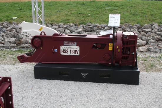 Hydraram HSS-5RV | Schrottschere | 450 kg | 5 ~ 8 t.
