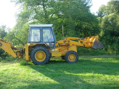 Backhoe loader - JCB 3 CX-4