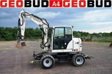 Escavatore gommato - Terex TW85 TW110