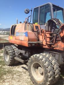 Excavator mobil - Fiat-Hitachi EX85