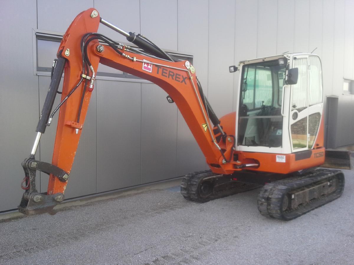 Mini excavator - Terex-Schaeff TC 50