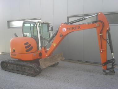 Minikoparka - Terex-Schaeff TC 50