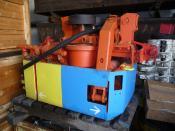 RK 9 Rangier Katze Scharf Rangierkatze Shunting Trolley Scharf 9 kW