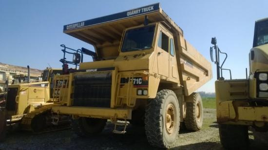 Caterpillar 771C S/N 3BJ00084