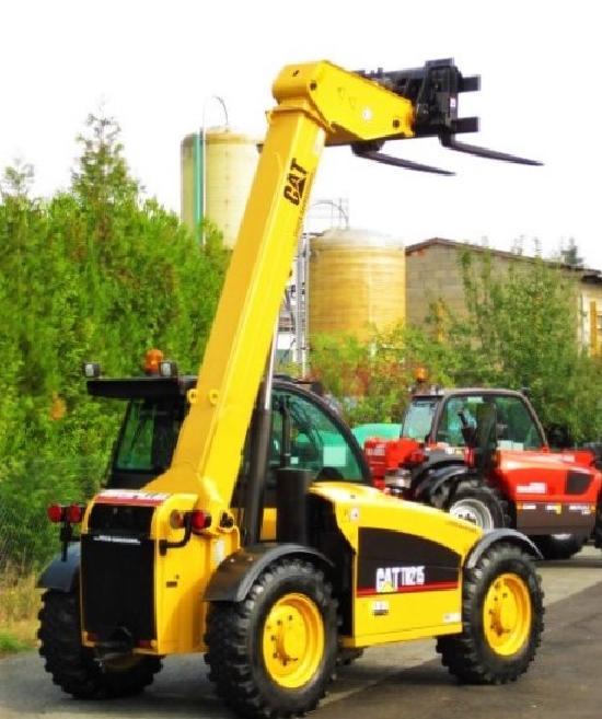 Caterpillar CATERPILLAR TH 215 4x4x4 / 5.5m / 2.5t. vgl. 625