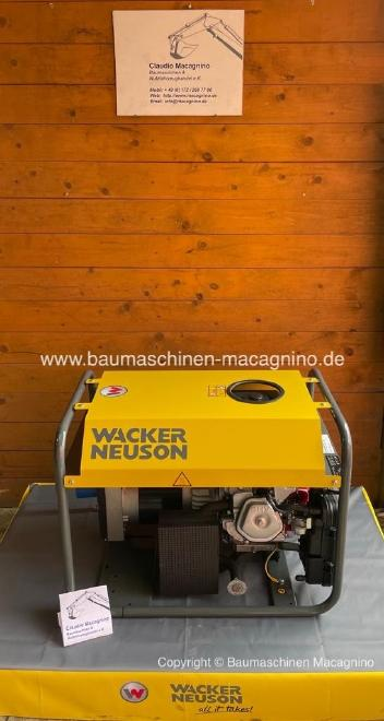 Wacker Neuson GV 5000 A Stromgenerator