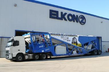 Centrale à béton mobile - Elkon Mobile Concrete Plants