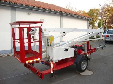 Treyler çalışma platformu - Condor T12 Hubarbeitsbühne Arbeitsbühne Generator