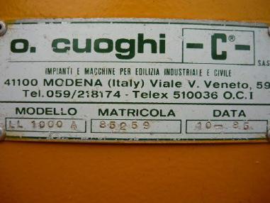 其它 - Cuoghi Bentonite mixing plant / Bentonitmischanlage