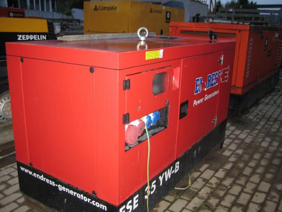 Endress Baustellen Generator ESE 35 YW-B