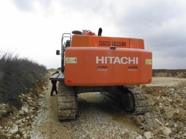 Zincirli ekskavatör - Hitachi ZX 470 LCH-3