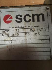 Höyläkone - SCM P 75
