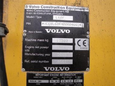 Diğer - Volvo L60F