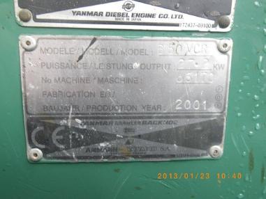Miniexcavadora - Yanmar B50