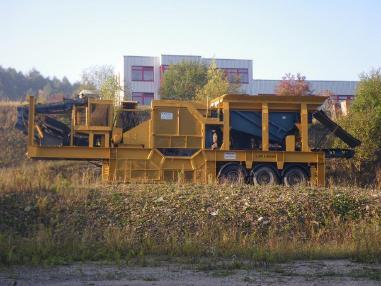 Čelisťový drtič - Metso-Minerals Loro & Parasini S135
