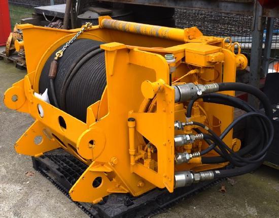 Liebherr LTM 1225 2. Hubwerk