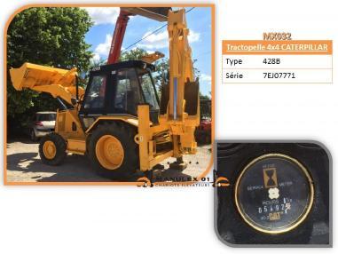 Экскаватор-погрузчик - Caterpillar 428 B