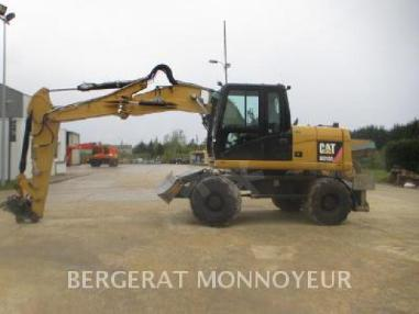 Mobile excavator - Caterpillar M313D