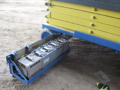 Scissor lift - Other traction battery 6V 210Ah