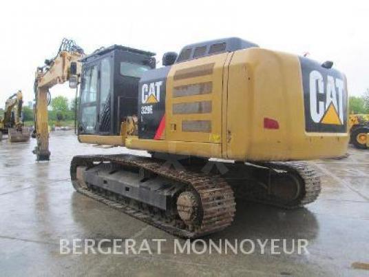 Zincirli ekskavatör - Caterpillar 329E