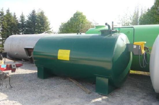 Dieseltankstelle 15.500. Liter Tankstelle