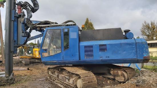 ABI MobilRam TM 12/15 vibro MRZV-925V Sennebogen SR-35T pile driver piling machine