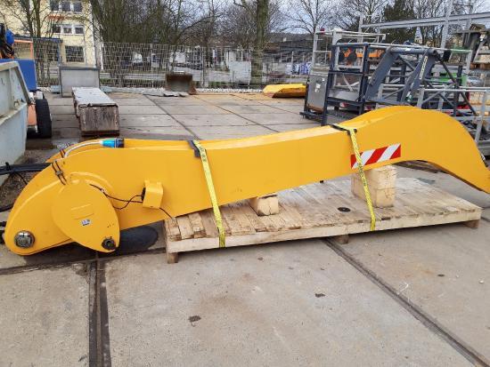 Liebherr Industriestiel 5000 mm, Stielende abgewinkelt