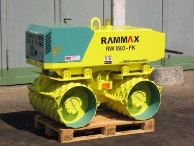 ट्रेन्च रोलर - Rammax Grabenwalze RAMMAX RW 1503 FK - 2007