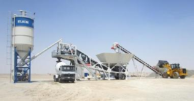 mobile Betonmischanlage - Elkon Mobile Concrete Plants