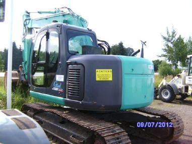 Tracked excavator - Kobelco SK 135