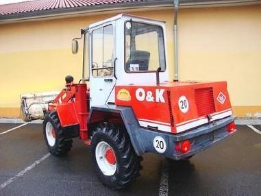 utovarivač na kotačima - O&K L5 Radlader 4,5t wheelloader 5800h 4in1 Klappsch