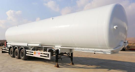 HAMAX LNSTR52 LNG SEMI-TRAILER /  BOBTAIL & STORAGE TANK