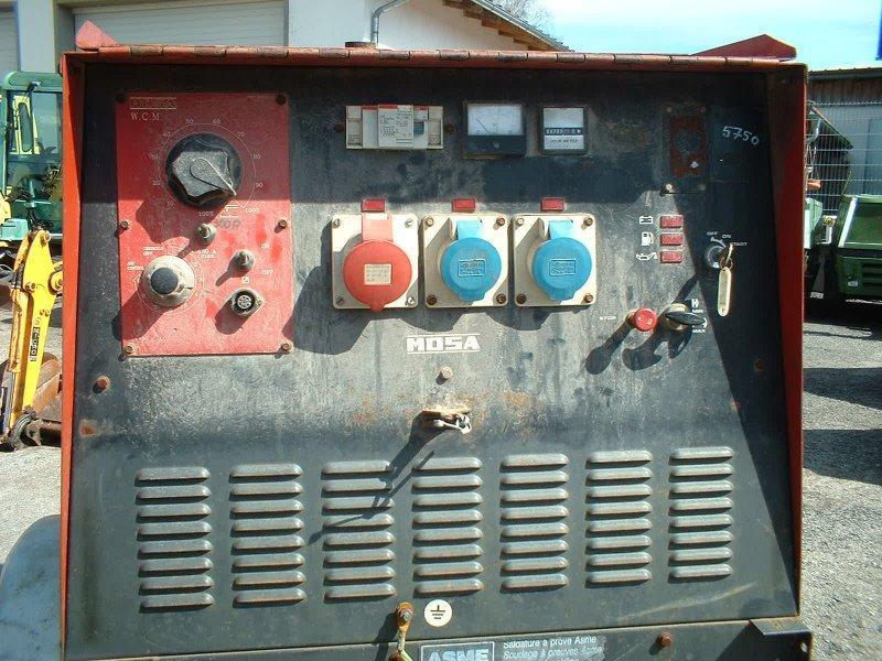 Generaattori - Mosa TS 415SX