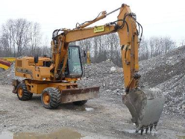 Mobile excavator - Case Poclain 988P Mobilbagger