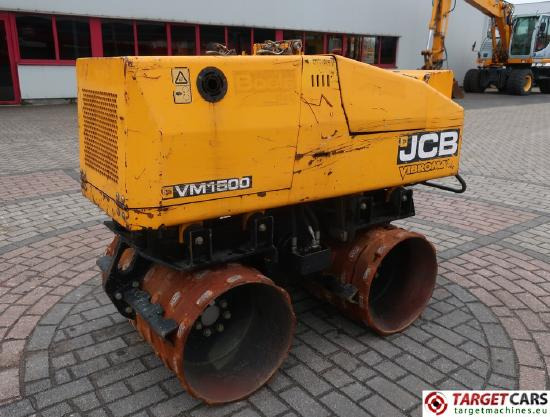JCB VM1500 Trench Compactor Vibratory 85cm Roller