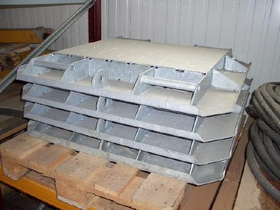 Stahlmatratzen für Baukrane