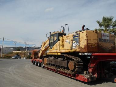Escavatore cingolato - Komatsu PC600 LC8