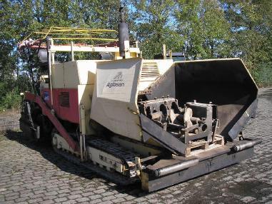 Pavimentadora de asfalto de cadenas - Dynapac 11011 K  /  Tracked Paver