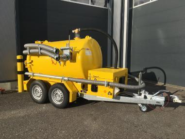Yıkama / emme arabası - Diğer S-Vac 2200 Multi