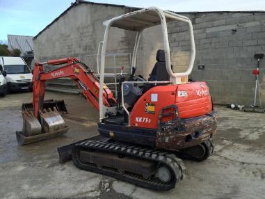 Excavator cu lanţ - Kubota KX 71-3