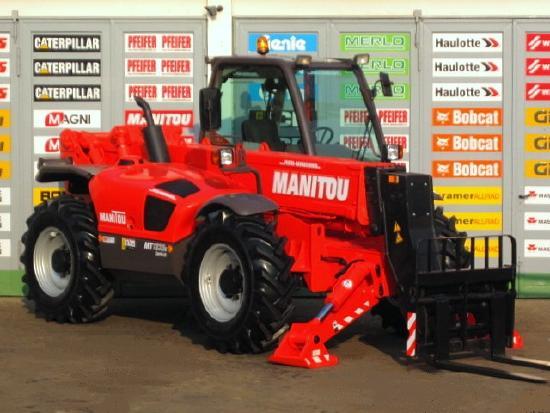 Manitou MT 1233 S Serie II-E 4x4x4 - 12m / 3.3t.