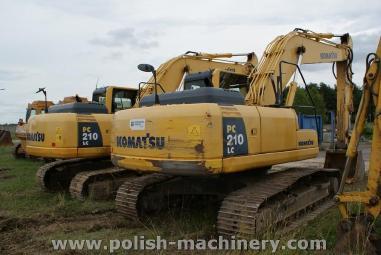 Excavator cu lanţ - Komatsu PC 210 LC-8