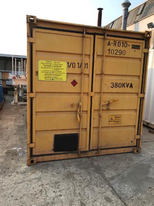 325 kVA Notstromaggregat m. autom. Notsromumschaltung MTU320 C20 [R010010290]