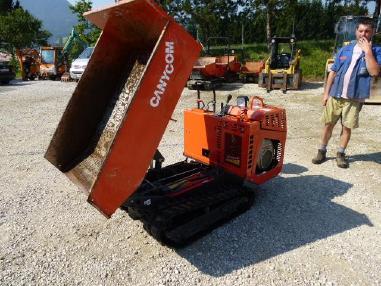 Dumper cingolato - Canycom Canycom BFK 709 Raupendumper